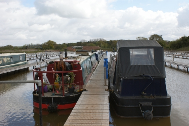 Moored boats 1